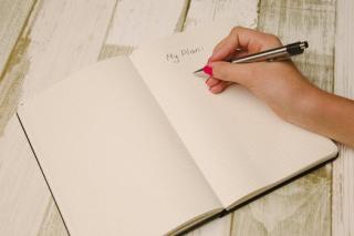 My plan notebook