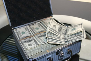 Money in lockbox