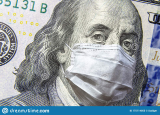 Covid-coronavirus-usa-dollar-money-bill-face-mask-affects-global-stock-market-world-economy-hit-corona-virus-outbreak-175114055